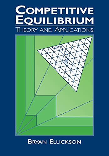 9780521319881: Competitive Equilibrium Paperback: Theory and Applications