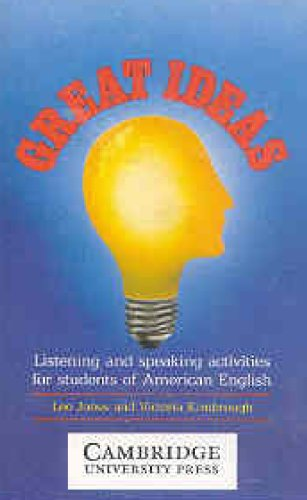 9780521320528: Great Ideas Audio Cassette: Listening and Speaking Activities for Students of American English
