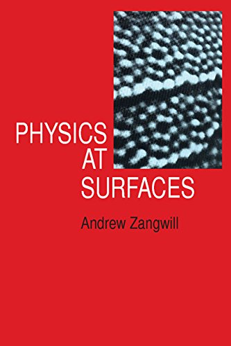 9780521321471: Physics at Surfaces