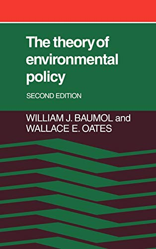 9780521322249: The Theory of Environmental Policy