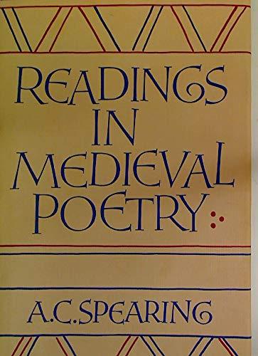 9780521322683: Readings in Medieval Poetry