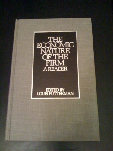 9780521322782: The Economic Nature of the Firm: A Reader