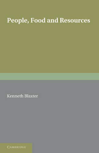 9780521323000: People, Food and Resources (Encyclopedia of Mathematics and Its Applications)