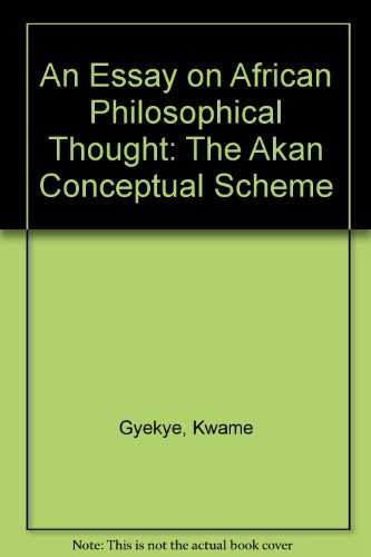 9780521325257: An Essay on African Philosophical Thought: The Akan Conceptual Scheme