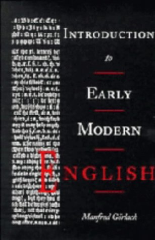 9780521325295: Introduction to Early Modern English