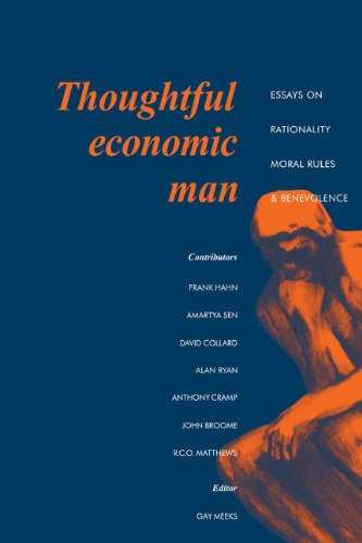 9780521325745: Thoughtful Economic Man: Essays on Rationality, Moral Rules and Benevolence