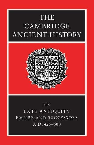 9780521325912: The Cambridge Ancient History 14 Volume Set in 19 Hardback Parts: The Cambridge Ancient History: Volume 14, Late Antiquity: Empire and Successors, AD 425-600 Hardback