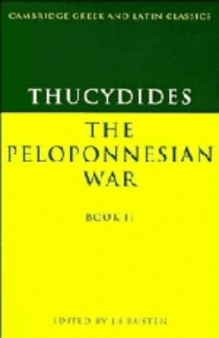 9780521326650: Thucydides: The Peloponnesian War Book II (Cambridge Greek and Latin Classics) (Bk. 2) (Greek Edition)