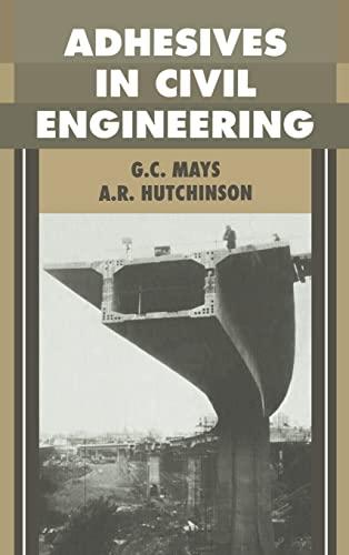9780521326773: Adhesives in Civil Engineering