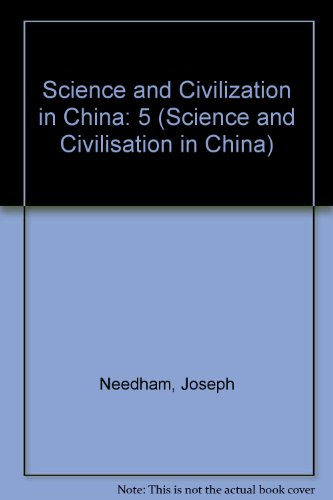 9780521327268: Science and Civilization in China (SCIENCE AND CIVILISATION IN CHINA)