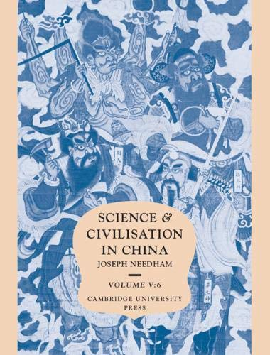 9780521327275: Science and Civilisation in China: Volume 5, Chemistry and Chemical Technology; Part 6, Military Technology: Missiles and Sieges