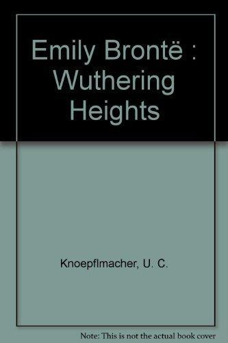9780521328104: Emily Brontë: Wuthering Heights (Landmarks of World Literature)