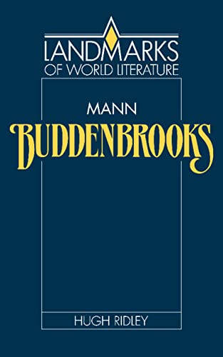 9780521328135: Mann: Buddenbrooks (Landmarks of World Literature)