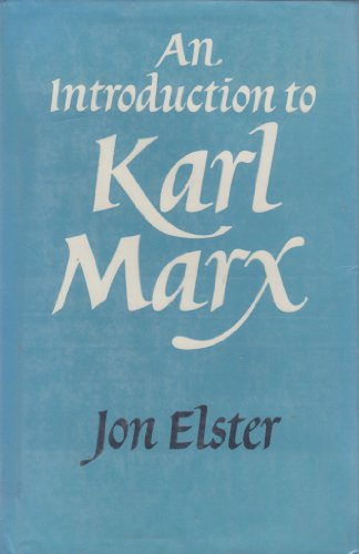 9780521329224: An Introduction to Karl Marx