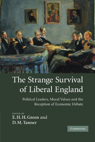 9780521329613: The Strange Survival of Liberal England: Political Leaders, Moral Values and the Reception of Economic Debate