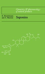 9780521329705: Saponins (Chemistry and Pharmacology of Natural Products)