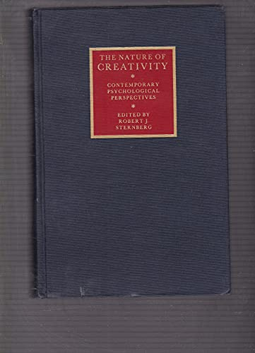 9780521330367: The Nature of Creativity: Contemporary Psychological Perspectives