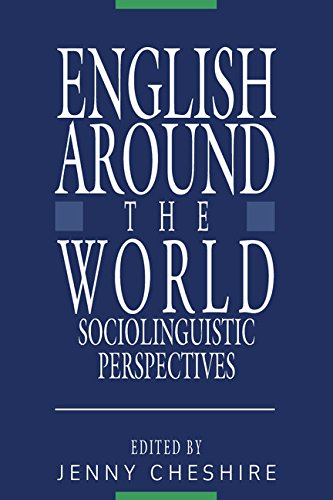 9780521330800: English around the World: Sociolinguistic Perspectives