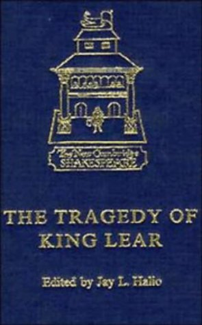 9780521331111: The Tragedy of King Lear (The New Cambridge Shakespeare)