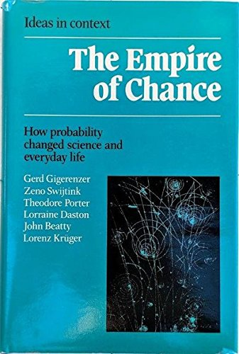 9780521331159: The Empire of Chance: How Probability Changed Science and Everyday Life (Ideas in Context)