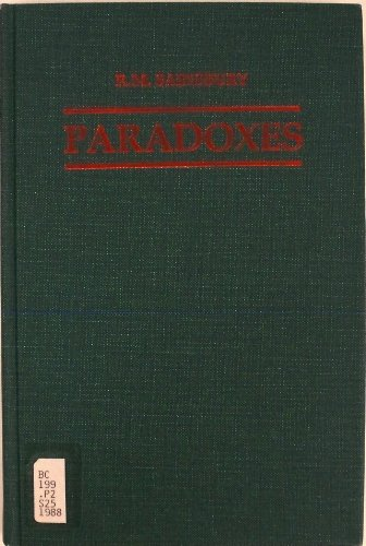 9780521331654: Paradoxes 1ed