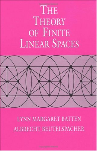 9780521333177: The Theory of Finite Linear Spaces: Combinatorics of Points and Lines (Cambridge Studies in Advanced Mathematics)