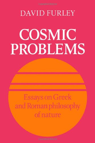 9780521333306: Cosmic Problems: Essays on Greek and Roman Philosophy of Nature