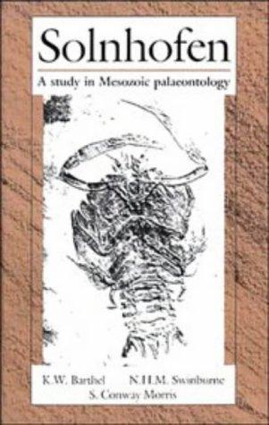 9780521333443: Solnhofen: A Study in Mesozoic Palaeontology