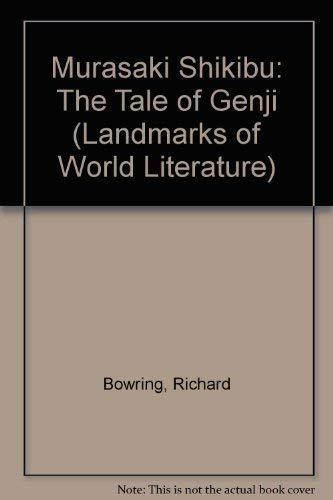 9780521333498: Murasaki Shikibu: The Tale of Genji