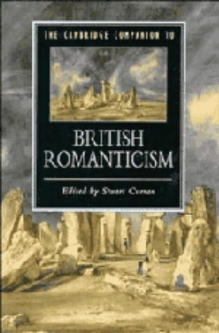 9780521333559: The Cambridge Companion to British Romanticism (Cambridge Companions to Literature)