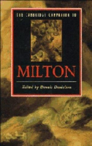 9780521334020: The Cambridge Companion to Milton (Cambridge Companions to Literature)