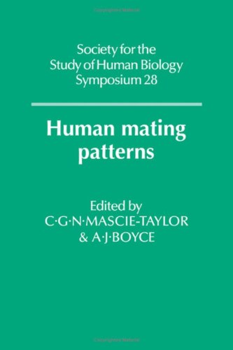 Human Mating Patterns (Society for the Study: C. G. N.