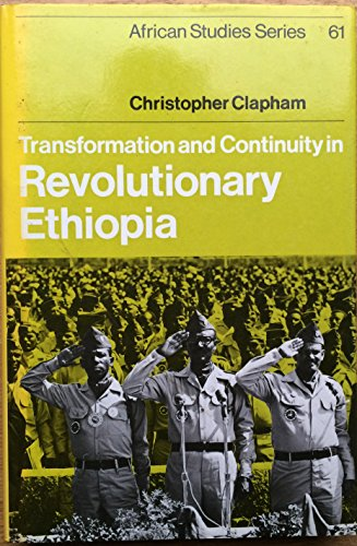 9780521334419: Transformation and Continuity in Revolutionary Ethiopia (African Studies)