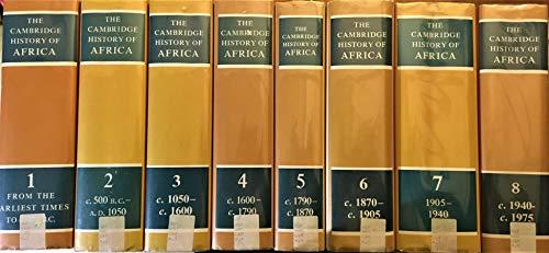 9780521334600: The Cambridge History of Africa 8 Volume Hardback Set