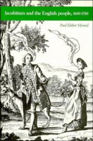 9780521335348: Jacobitism and the English People, 1688-1788
