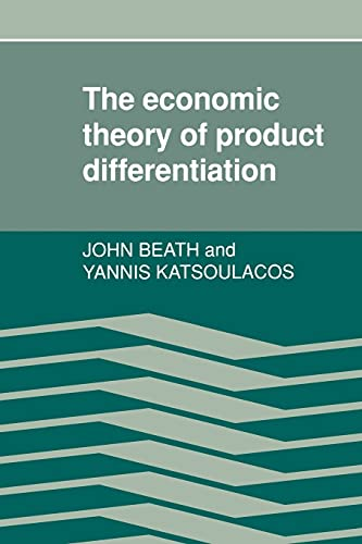 9780521335522: The Economic Theory of Product Differentiation (Sur Le Capitalisme Moderne)