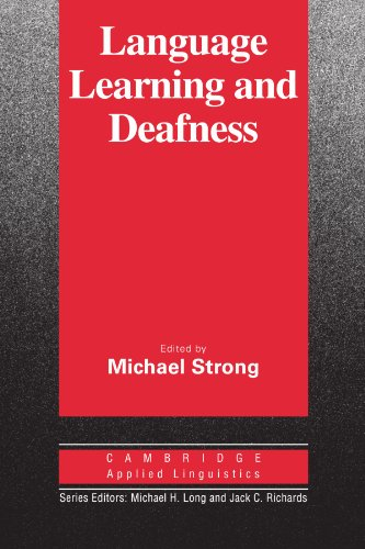 9780521335799: Language Learning and Deafness