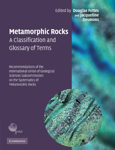 9780521336185: Metamorphic Rocks: A Classification and Glossary of Terms Paperback