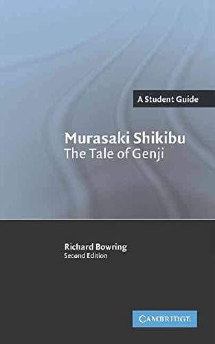 9780521336369: Murasaki Shikibu: The Tale of Genji