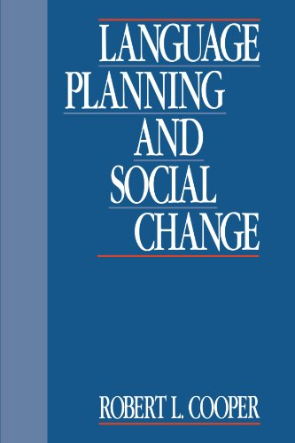 9780521336413: Language Planning and Social Change