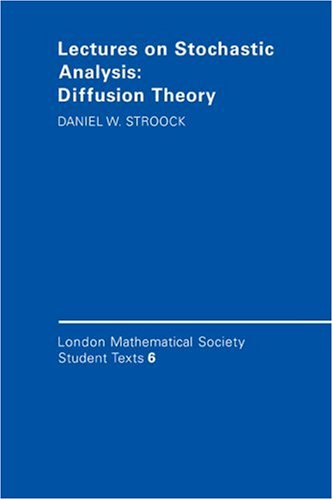 9780521336451: Lectures on Stochastic Analysis: Diffusion Theory (London Mathematical Society Student Texts)