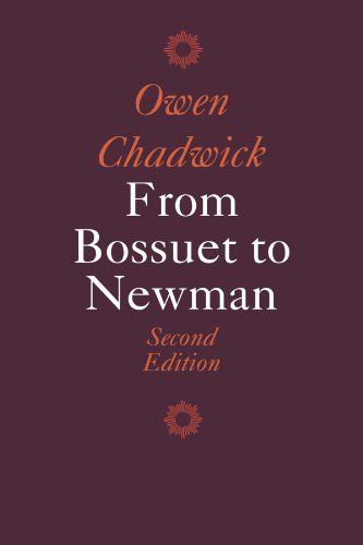 9780521336765: From Bossuet to Newman (Cambridge Paperback Library)