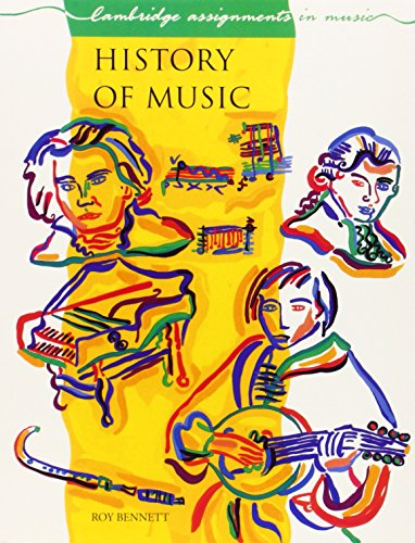 9780521336819: History of Music (Cambridge Assignments in Music)