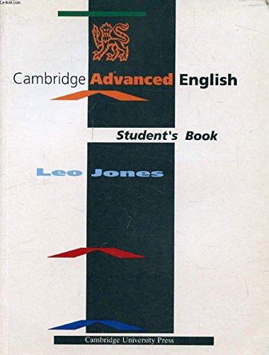9780521336970: Cambridge Advanced English Student's book