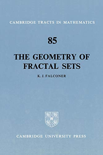 9780521337052: The Geometry of Fractal Sets