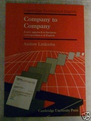 Company to Company: A New Approach to