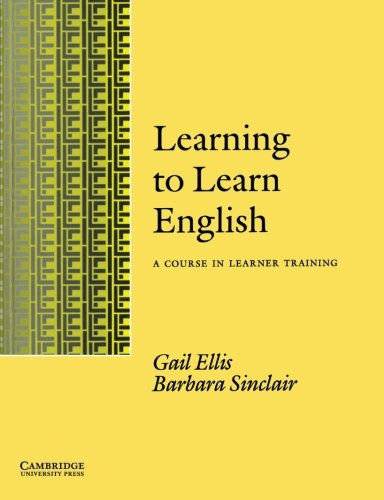 9780521338165: Learning to Learn English Learner's book: A Course in Learner Training