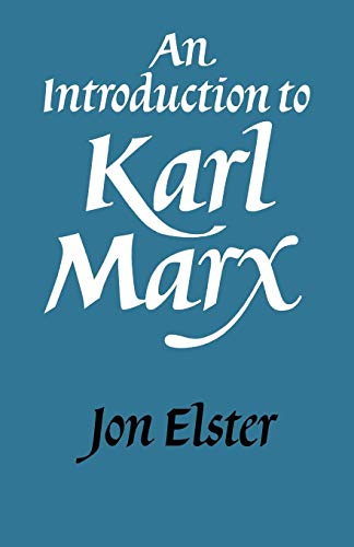 9780521338318: An Introduction to Karl Marx Paperback