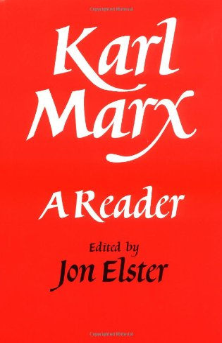9780521338325: Karl Marx: A Reader