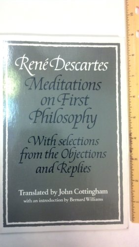 9780521338578: Rene Descartes: Meditations on First Philosophy: With Selections from the Objections and Replies
